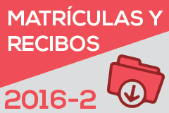 Instructivo de Matrículas Periodo 2016-2
