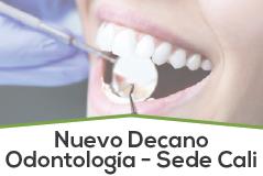 Nuevo Decano Odontología - Sede Cali