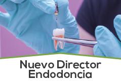 Nuevo Director del Programa de Endodoncia