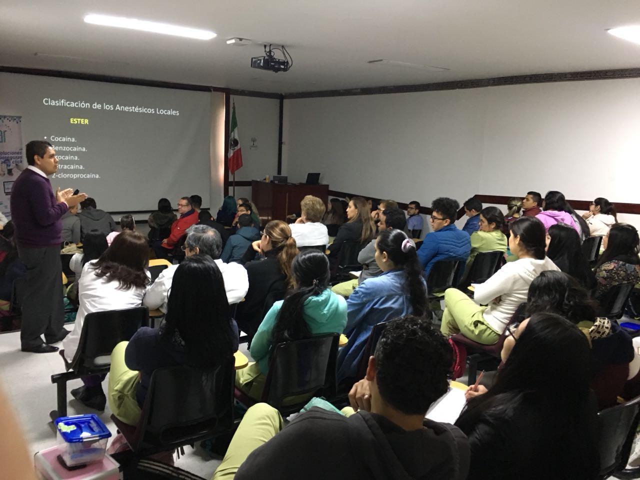 Conferencia Anestesia local y Analgésicos en Odontología